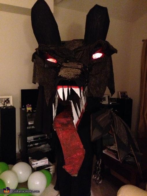The Big Bad WOLF HEAD Costume