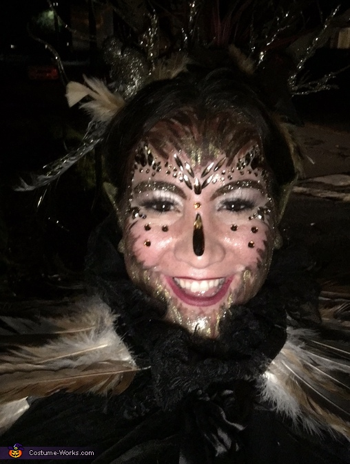 Bird face, The Bird Woman Costume