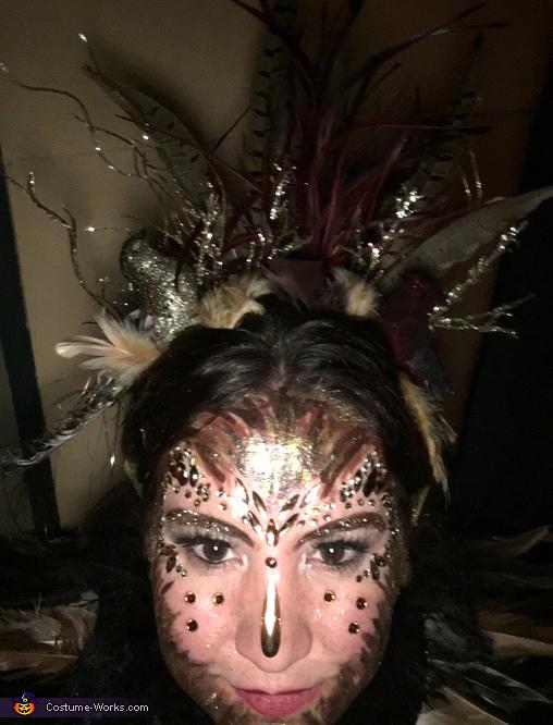 Bird hair, The Bird Woman Costume