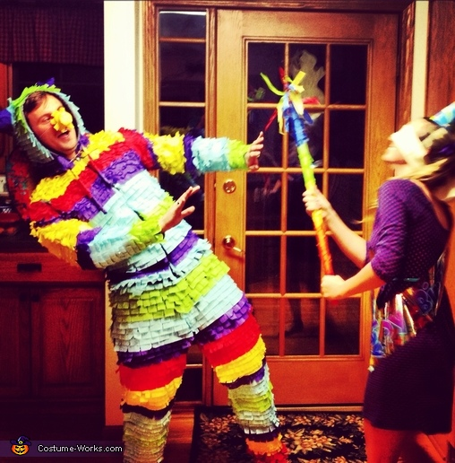 The Birthday Girl and her Piñata Couples Costume