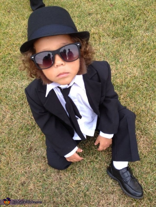 The Blues Brothers Homemade Costume
