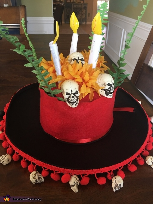 La Muerte Hat, The Book of Life Costume