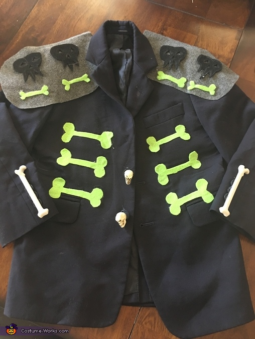 Xibalba Jacket, The Book of Life Costume