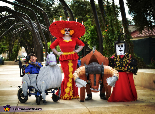 The Book of Life Homemade Costume
