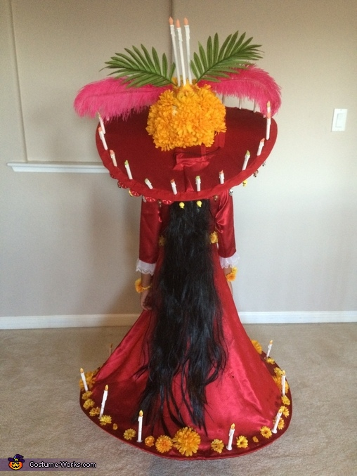 The Book of Life La Muerte Homemade Costume