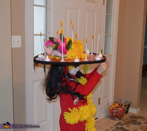 The Book of Life La Muerte Costume for Girls