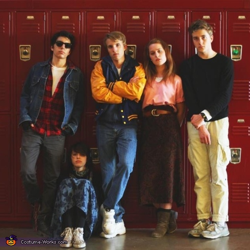 The Breakfast Club Group Costume