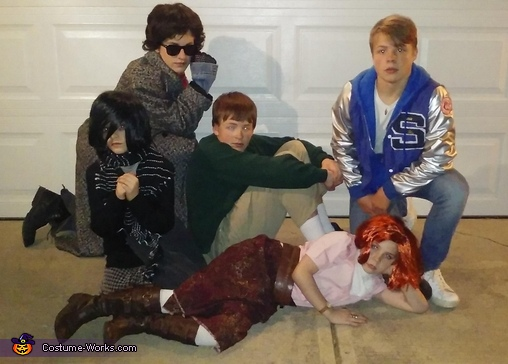 Group 2, The Breakfast Club Costume