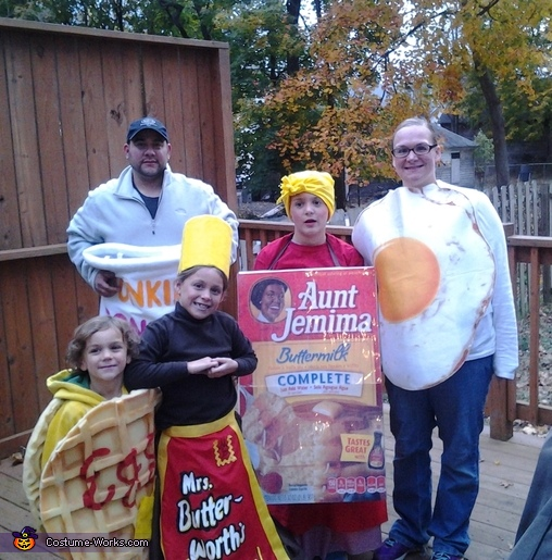 The Breakfast Club Family Costume