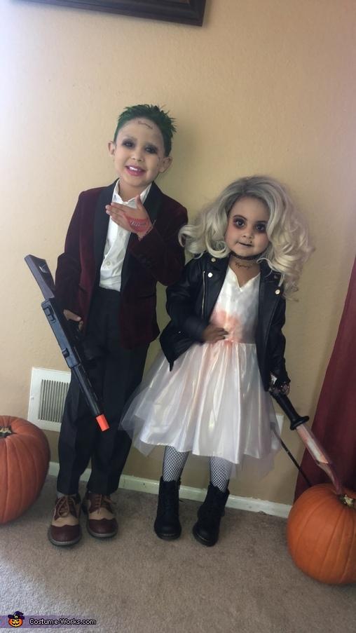 Joker and Tiffany, The Bride of Chucky Costume