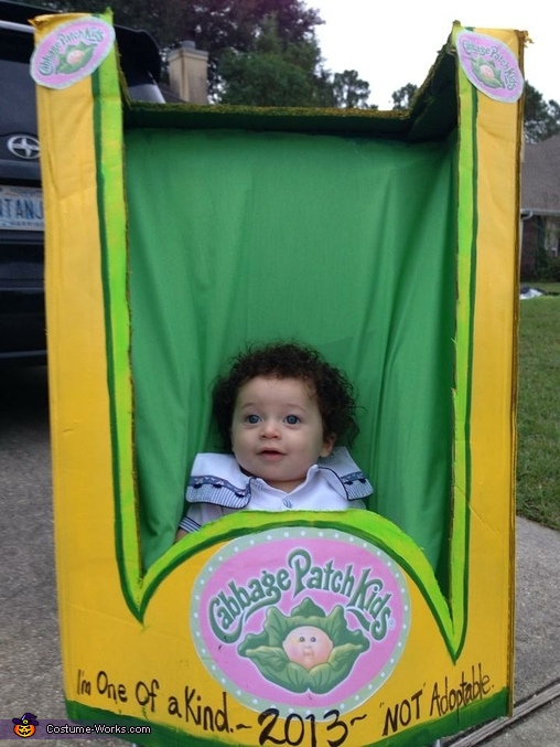 The Cabbage Patch Doll Baby Costume