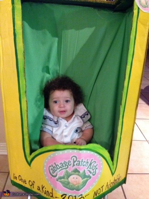 Osias the cabbage patch doll, The Cabbage Patch Doll Baby Costume