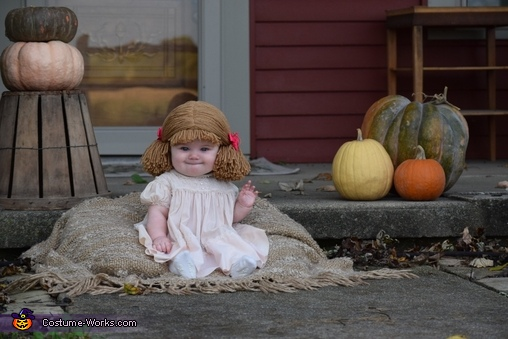 The Cabbage Patch Doll Homemade Costume
