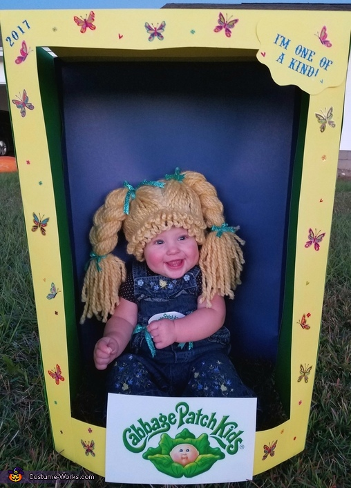 Happy Halloween, The Cabbage Patch Kid Costume