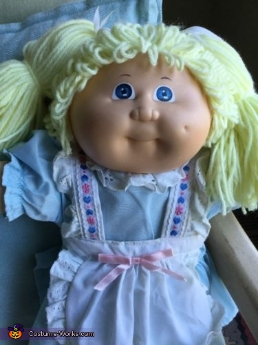 The inspiration, The Cabbage Patch Kid Costume