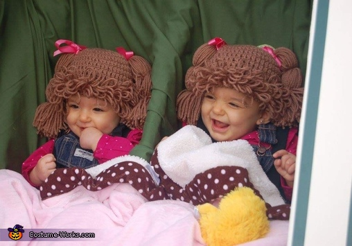The Cabbage Patch Twins Costume