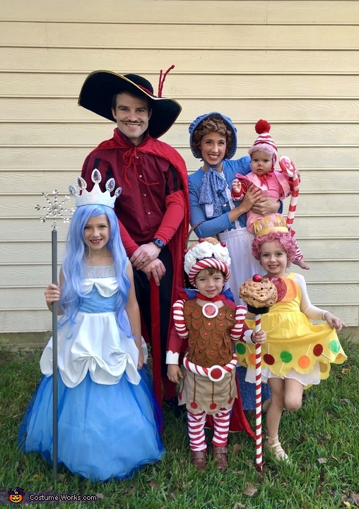 The Candy Land Crew Costume