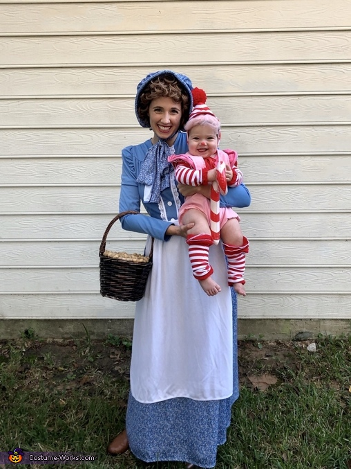 Gramma Nut and Mr. Mint, The Candy Land Crew Costume
