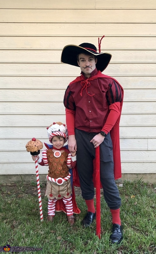 Lord Licorice and King Kandy, The Candy Land Crew Costume