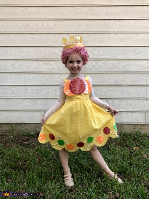 Princess Lolly, The Candy Land Crew Costume