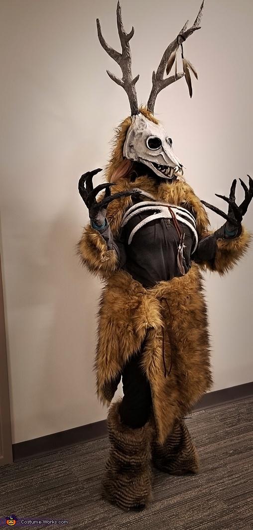 The Cannibalistic Wendigo Homemade Costume
