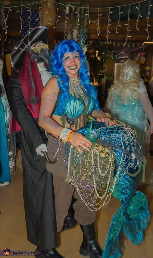 The Captured Mermaid Costume