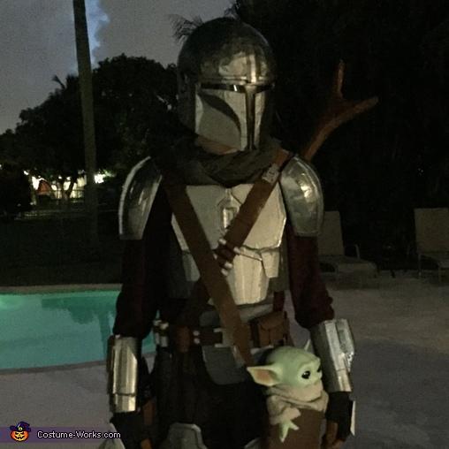 The Cardboard Mandalorian Homemade Costume