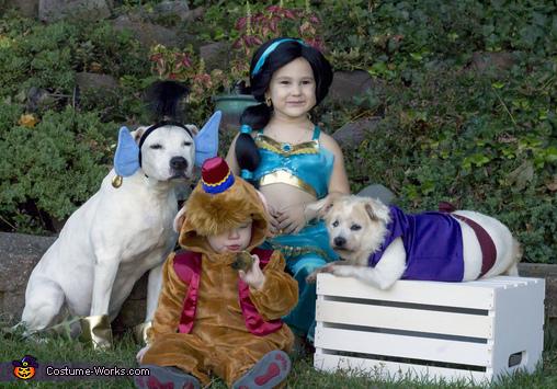 The cast of Aladdin Costume