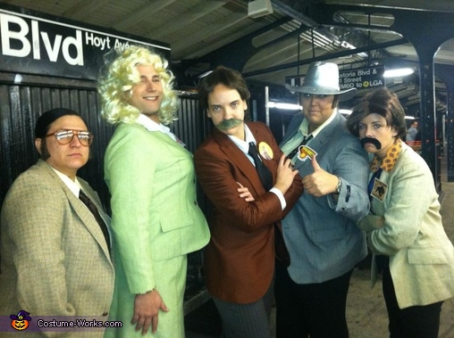Anchorman - The Transgendered News Team, The Cast of Anchorman Costume