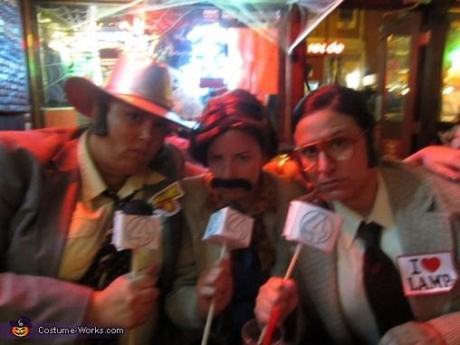 Anchorman - Champ, Brian, and Brick, The Cast of Anchorman Costume