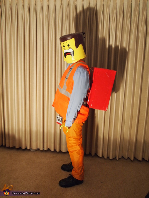 Emmet, The Cast of the Lego Movie Family Costume