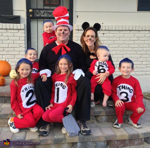 The Cat in the Hat and 6 Things Costume