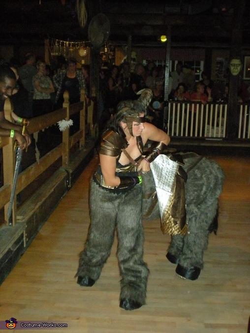 The belt mount, The Centaur Costume