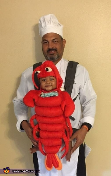 The Chef and His Lobster Costume