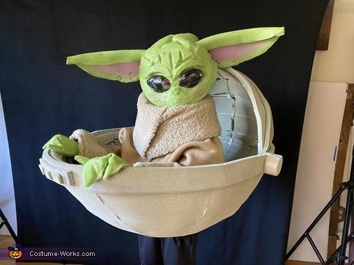 The Child aka Baby Yoda Homemade Costume