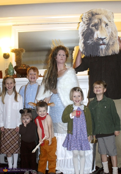 The Chronicles of Narnia Family Costume