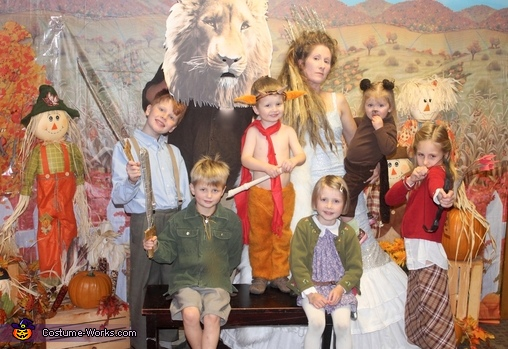 Lion, Witch and Wardrobe, The Chronicles of Narnia Family Costume