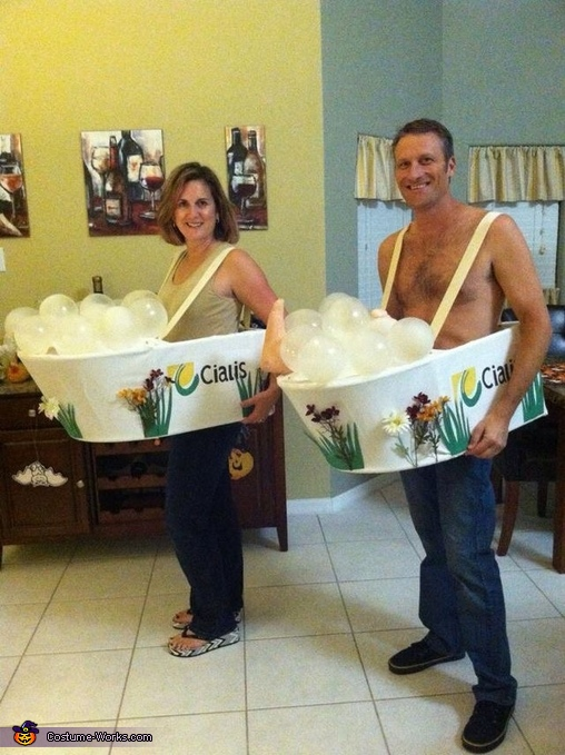 The Cialis Couple Costume