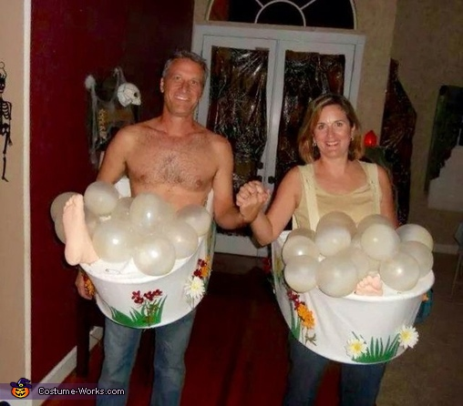 The Cialis Couple Homemade Costume