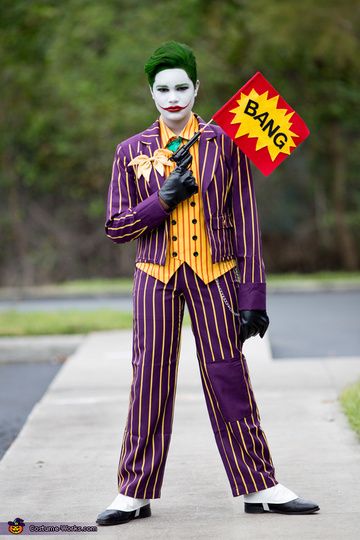 The Classic Joker Costume