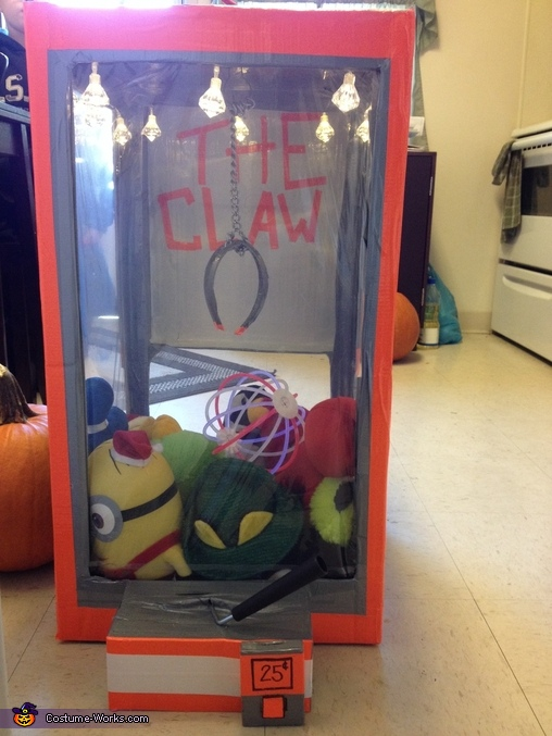 The Claw, The Claw Costume