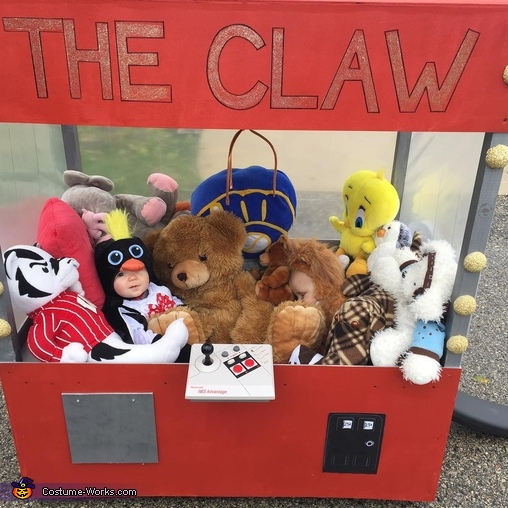 "Being a stuffed animal is a hard job!, The ""Claw"" Costume"