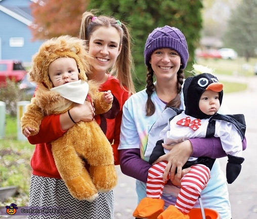 "The Moms and their precious animals, The ""Claw"" Costume"
