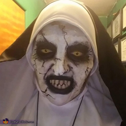 The Conjuring 2 Valek Nun Homemade Costume