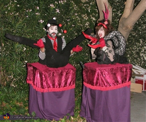 The Contortionists!, The Contortionists Costume