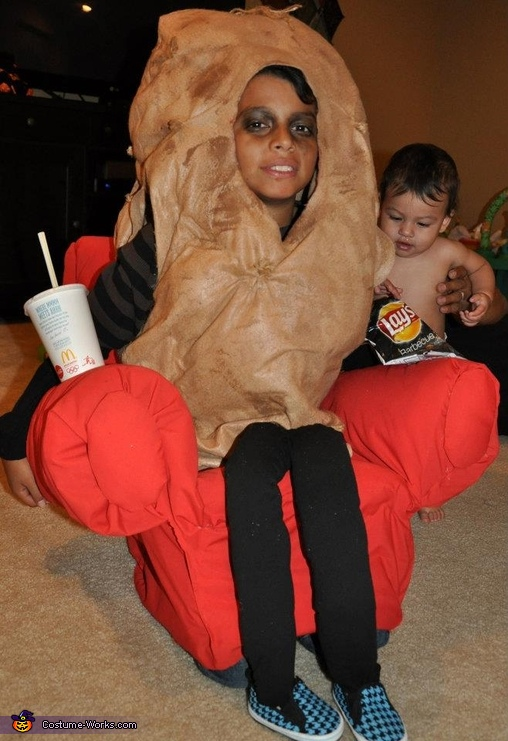 The Couch Potato Costume