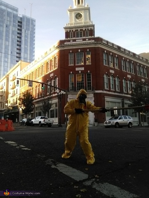 6 FEET! No Safety, Know Pain, The Covid-19 Safety Duck Costume