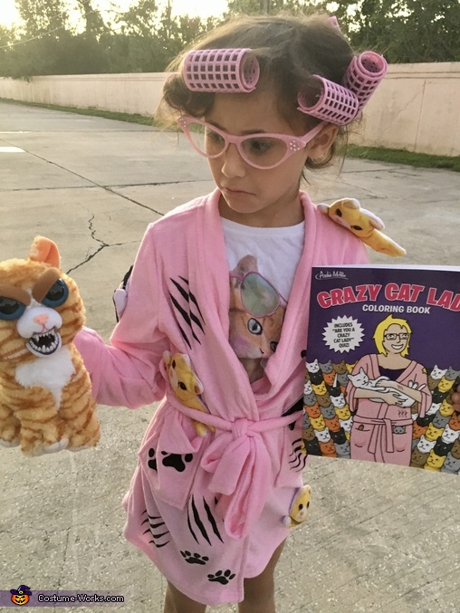 The Crazy Cat Lady Costume