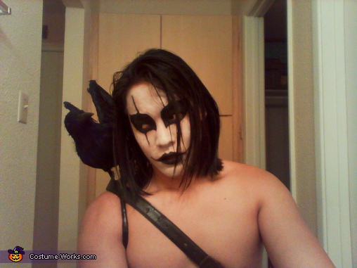 The Crow Costume - Homemade costumes for men