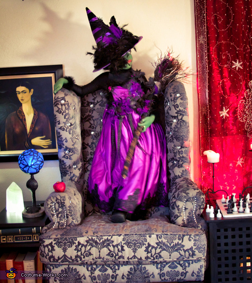 The Crystal Witch Homemade Costume